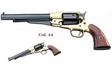 Revolver à poudre noir  Remington texas laiton 1858 Cal. 44