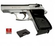 Pistolet de défense à blanc  Mod. Lady argent