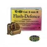 Cartouches de Défense  FLASH   Cal. 9 mm/ 380  revolver