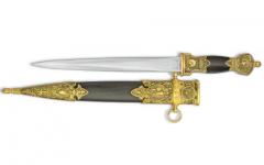 Dague d'ornement classique  (avec aigle bicéphale)  de 41 cm