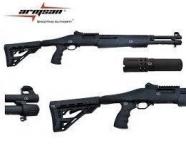 Fusil à pompe Armsan  Mod.RS-X2  bronze  Cal 12/76