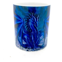 Mug  dragon bleu