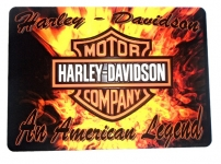 Tapis de souris   « Harley Davidson américan légende »