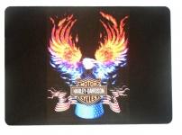 Tapis de souris   « Harley Davidson aigle enflammé »