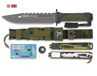 Poignard RUI tactical vert THUNER I