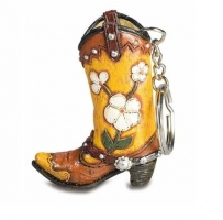 Porte clef  botte Cow Boy - western