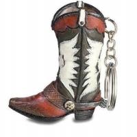 Porte clef  botte Cow Boy - western