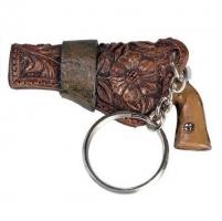 Porte clés pistolet cow boy -  western