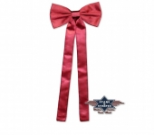 Cravate Western rouge