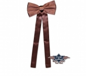 Cravate Western brun