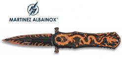 Couteau Pliant DRAGON Orange Lame de 8.5 cm