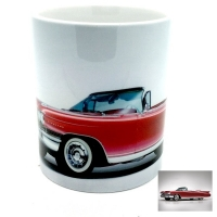 Mug  voiture américaine rouge