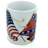 Mug « Drapeaux Civil War Nord et Sud »