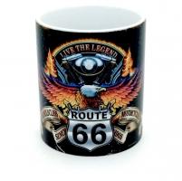 Mug Route 66 Live The Legend