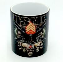 Mug USMC Compagnie Skull