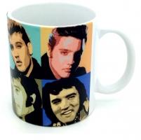 Mug Elvis Presley portrait multiple