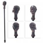 Baton (canne) de Magicien  Crane effrayant Vieillie de 97 cm