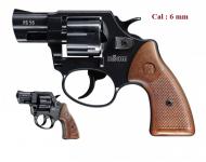 Revolver  LITTLE  JOE  Chrome   Cal. 6mm  (Réplique)