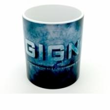 Mug GIGN fond bleu