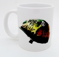 47  Mug Casque Born To Kill