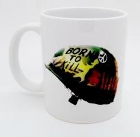 47  Mug Casque Born To Kill