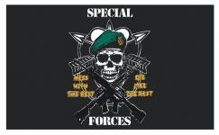 Drapeau nylon US Spécial Forces