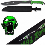 Machette de Brousse courbée  Monster  Mad Zombie