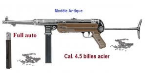 Fusil Mitrailleur  Legends MP Antique  Fulle auto  Cal. 4.5 Bille Acier
