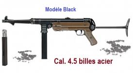 Fusil Mitrailleur  Legends MP Black  Fulle auto  Cal. 4.5 Bille Acier