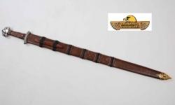 Epée de Frappe Viking forgée  avec fourreau cuir