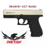 Pistolet de défense Mod.17  satin Cal. 9 mm