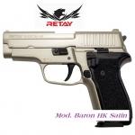 Pistolet de défense Mod.Baron HK  satin  Cal. 9 mm