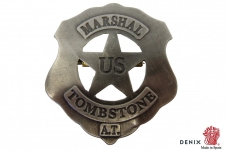 Plaque US  Marshal Tombstone