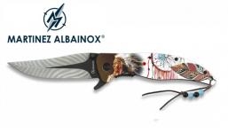 Couteau Pliant indien 3D  Lame de 9 cm