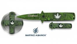 Couteau Pliant de poche Spiner  Marijuana Lame de 6 cm