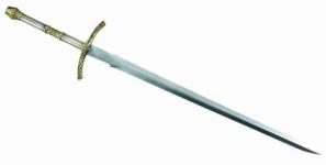 Epée de chevalier de 96 cm  version lux