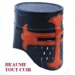 Casque Heaume templier en cuir