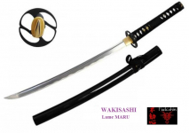 Wakisashi pratical Lame MARU  couleur noir