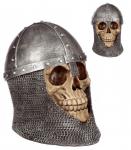 Crâne tête de mort heaume