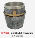 Verre goblet Heaume  de 06 cm