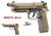 Pistolet Co2  Beretta M9 A3   Cal 4.5  BB