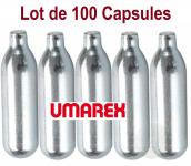 Lot de 100 capsules Co2 12 gr Umarex