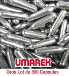 Gros lot de 500 capsules Co2 12 gr Umarex