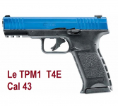 Pistolet Co2 Walther PPQ T4E Cal 43
