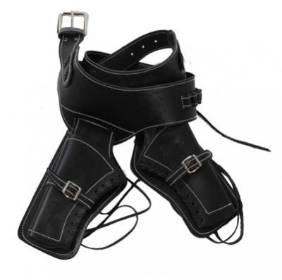 Ceinturon double holster noir pour 2 revolvers western f4b6d8ff83d