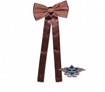 cravate western brun star and stripes. Black Bedroom Furniture Sets. Home Design Ideas