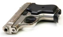 Pistolet à blanc 315 AUTO  Chrome (Réplique) Bruni