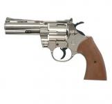 Revolver à blanc PYTHON 380 Chrome Bruni, réplique 357 Magnum