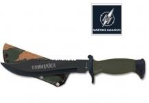 Couteau Tactical   Vert et Noir  Mod .COMMANDER