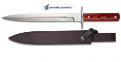 Couteau de chasse 41 cm  manche bois